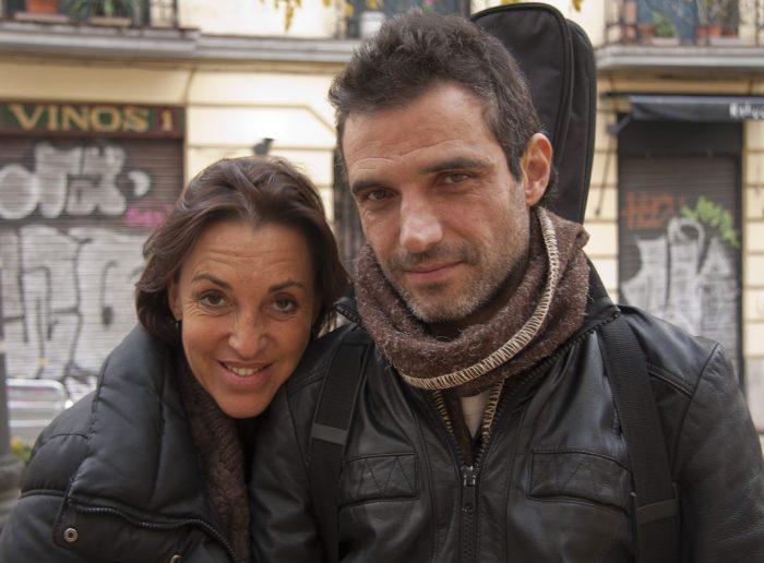 La actriz Imán Padellano y el músico Luis Callejón juntos en 'La piedra de la paciencia'