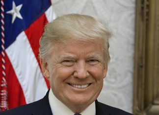 Foto oficial del expresidente Donald J. Trump (Imagen: Shealah Craighead.)