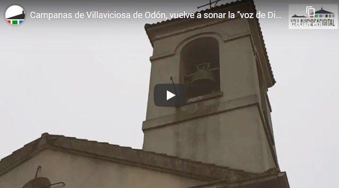 imagen campanario iglesia santiago apostol villaviciosa de odon